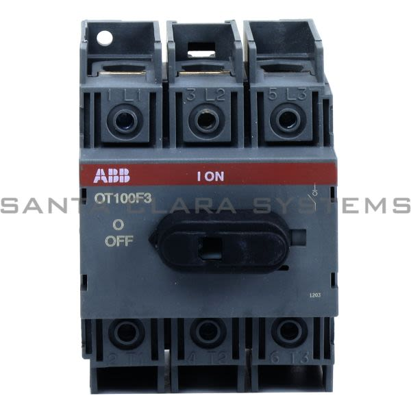 ABB 1SCA105004R1001 Switch-Disconnector | OT100F3 Product Image