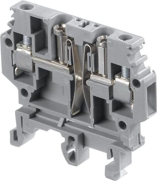 ABB 1SNA195314R1600 M4/6.ST.Au Screw Clamp Terminal Blocks - Test disconnect with plug - Beige Product Image