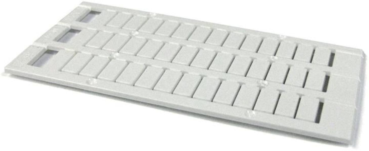 ABB 1SNK158012R0000 MC612PA Terminal Block Markers pre-printed : - (x100) Vertical Product Image