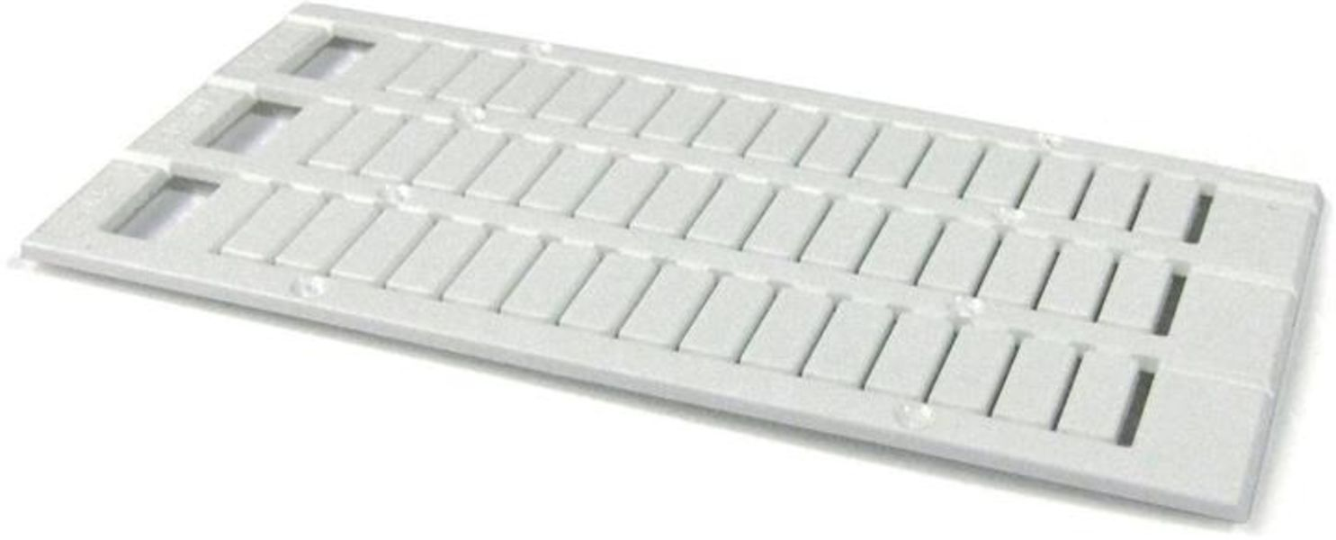 ABB 1SNK168021R0000 MC812PA Terminal Block Markers pre-printed : ~ (x100) Horizontal Product Image