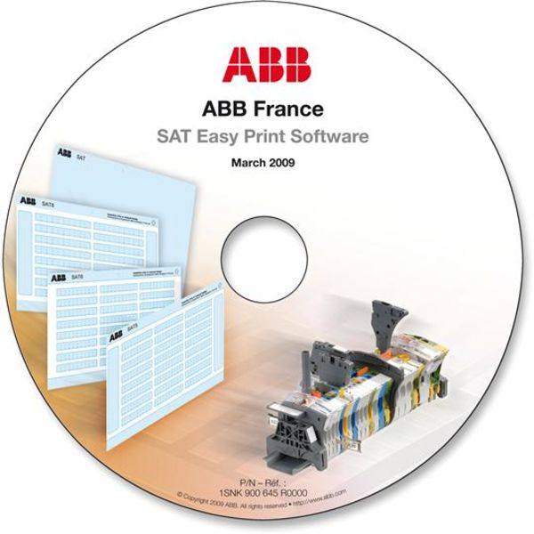 ABB 1SNK168022R0000 MC812PA Terminal Block Markers pre-printed : ~ (x100) Vertical Product Image