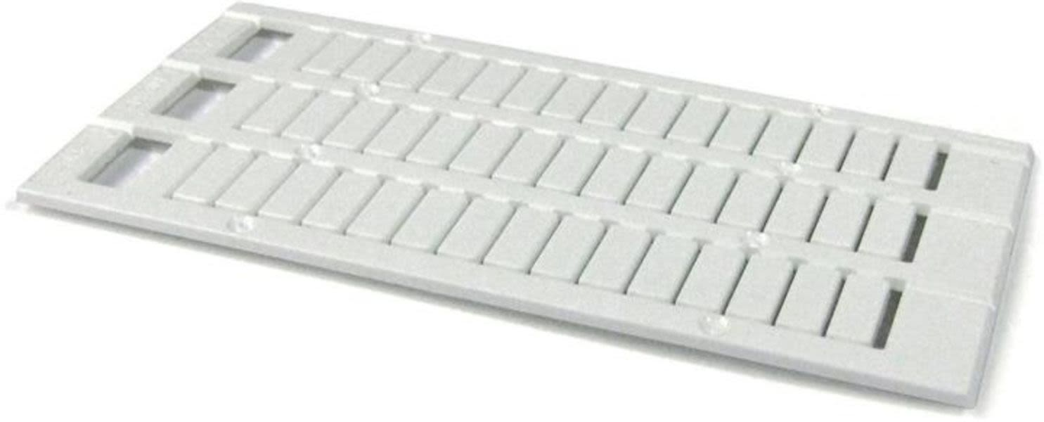 ABB 1SNK168202R0000 MC812PA Terminal Block Markers pre-printed : +48V (x100) Vertical Product Image