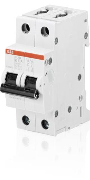 ABB 2CDS252001R0577 Miniature Circuit Breaker - S200 - 2P - K - 50 A Product Image
