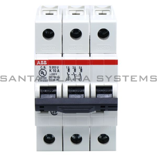 ABB 2CDS273417R0427 Circuit Breaker | S203U-K10 Product Image