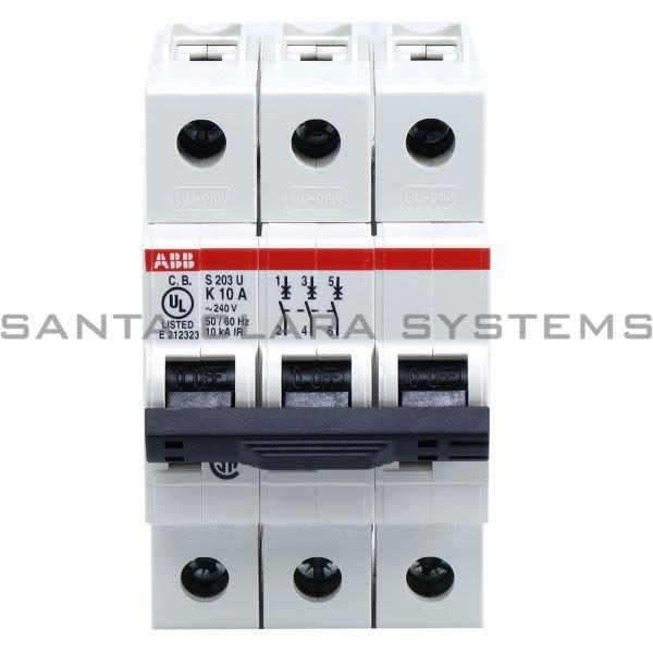 ABB 2CDS273417R0427 Circuit Breaker | S203U-K10 Product Image