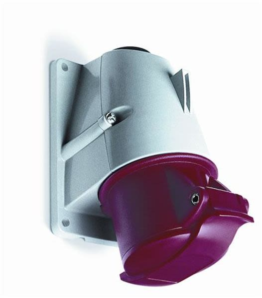 ABB 2CMA193139R1000 Surface socket-outlet, 6h, 32A, IP44, 3P+N+E Product Image