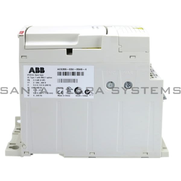 ABB ACS355-03U-05A6-4 Drive Product Image