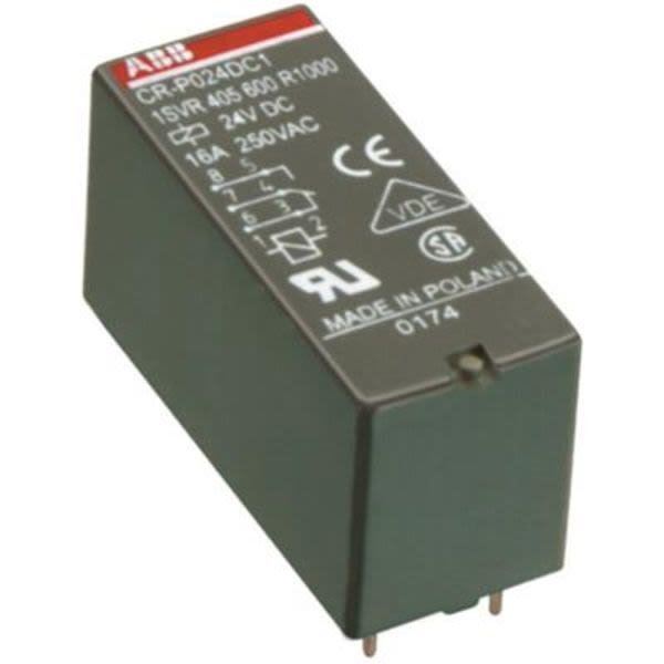 ABB CR-P024AC1  Pluggable Relay | 1SVR405600R0000 Product Image