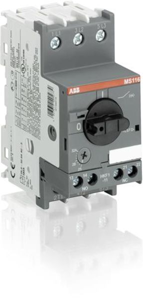 ABB MS116-6.3 Manual Motor Starter | 1SAM250000R1009 Product Image