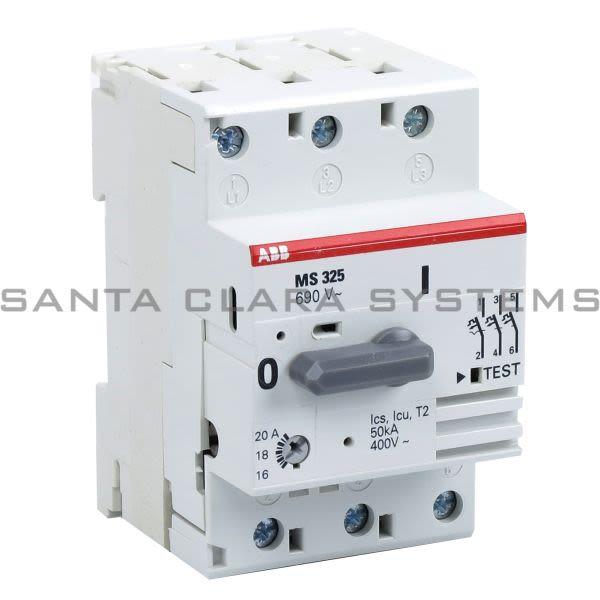 ABB MS325-20.0 Manual Motor Starter Product Image