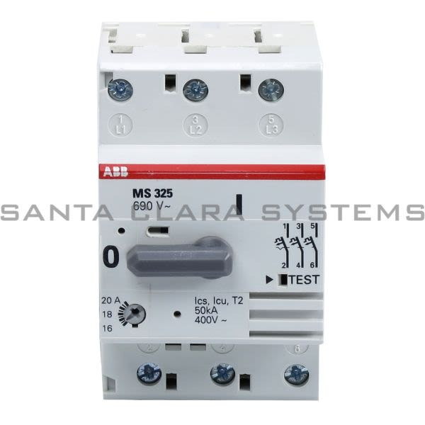 ABB MS325-20.0 Manual Motor Starter Product Image