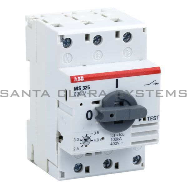 ABB MS325-4.0 Manual Motor Starter Product Image