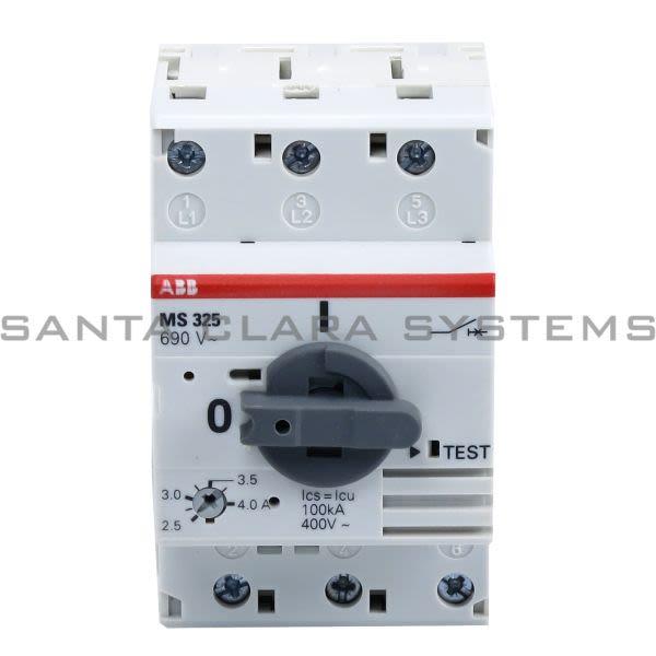 ABB MS325-4.0 Manual Motor Starter Product Image