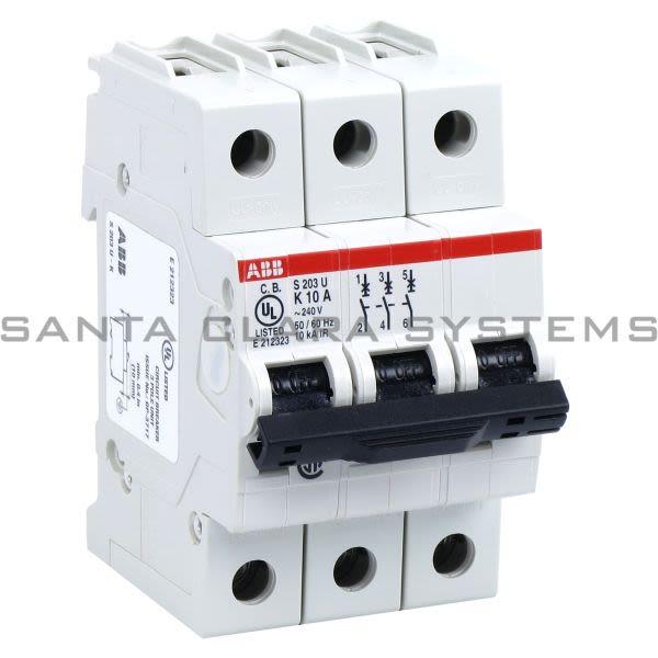 ABB S203U-K10 Circuit Breaker Product Image