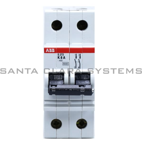 ABB S272-K8A Circuit Breaker Product Image