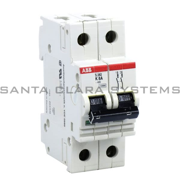 ABB S282-K8A Circuit Breaker Product Image