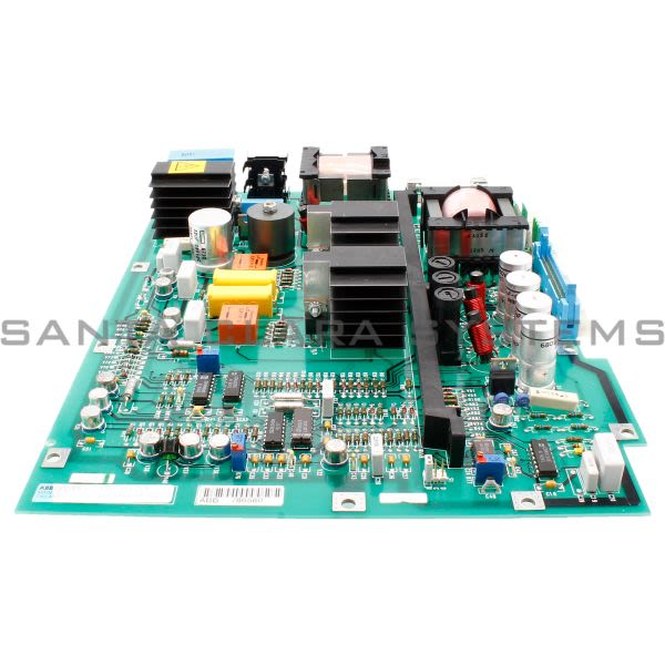 ABB Stromberg 57411422MH Saft 111 Pow, PCB Assy, Power Supply Card, 501566 Product Image