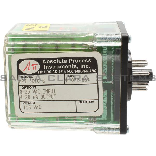 Absolute Process Instruments API-6010-G  Input Module Product Image