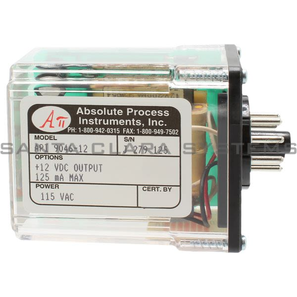 Absolute Process Instruments API9046-12 Power Supply Product Image