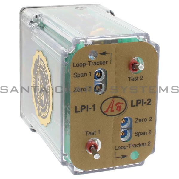 Absolute Process Instruments API LPI-2  Loop Powered Isolator Product Image