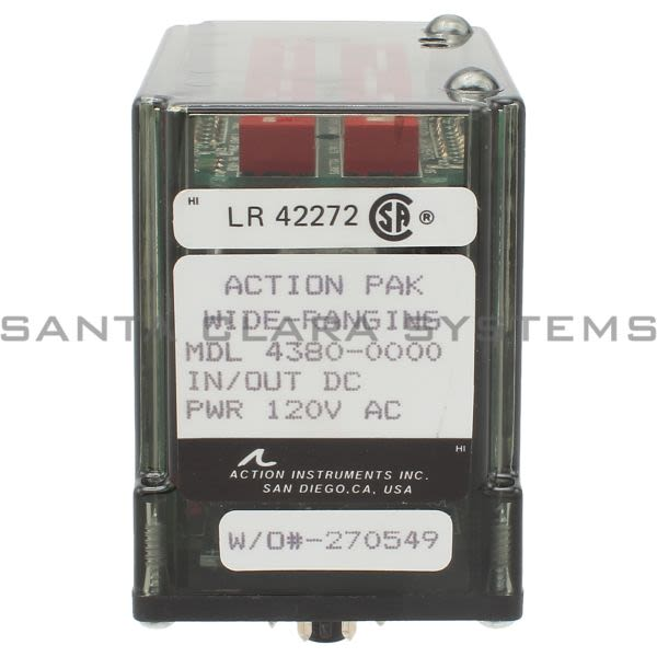 Action Instruments 4380-0000 Signal Conditioner   Action Pak Product Image
