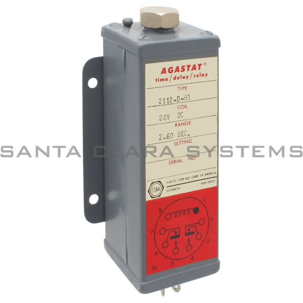 Agastat 2112-D-H1 Miniature Time Delay Relay Product Image