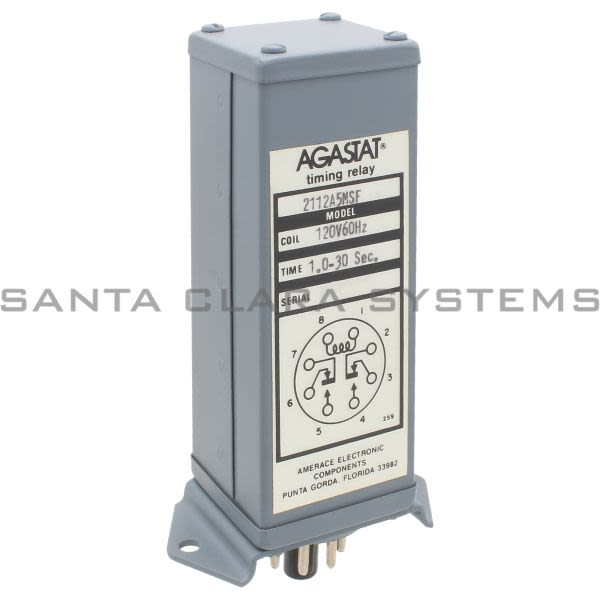 Agastat 2112A5MSF Timing Relay 1.0-30 Sec Product Image