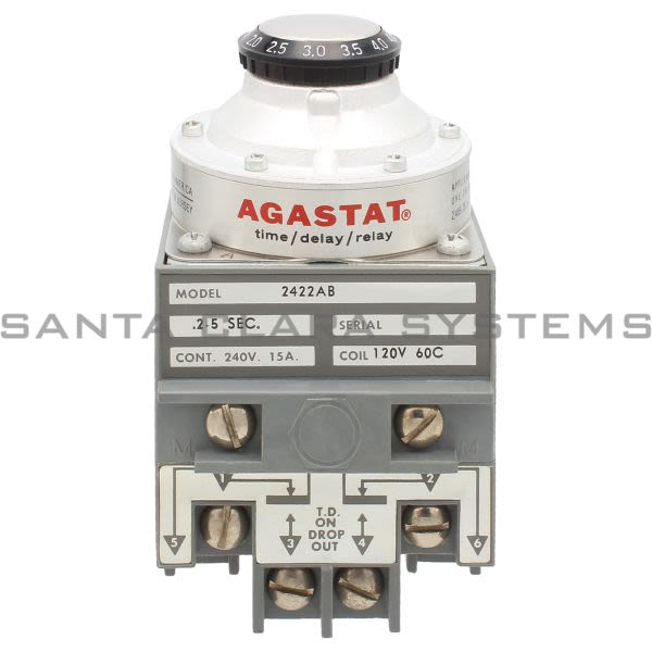 Agastat 2422AB Relay Product Image