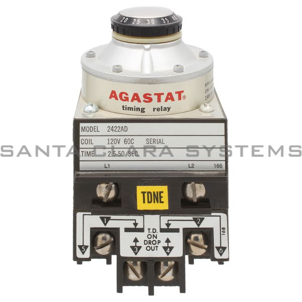 Agastat 2422AD Time Delay Relay | Tyco Product Image