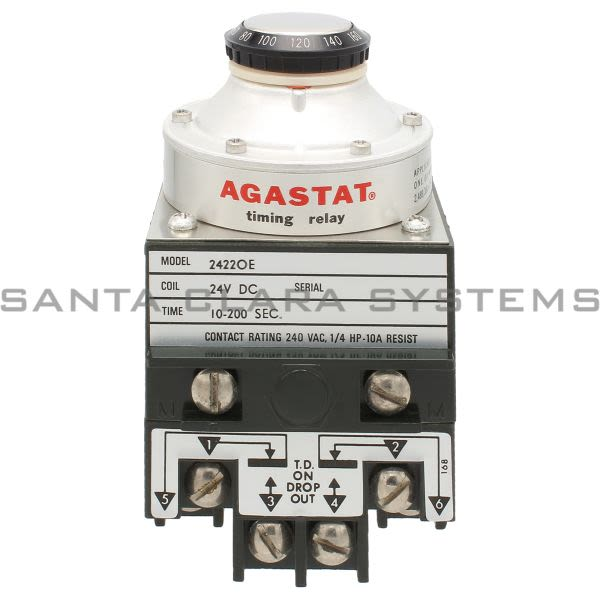 Agastat 2422OE Timer Relay Product Image