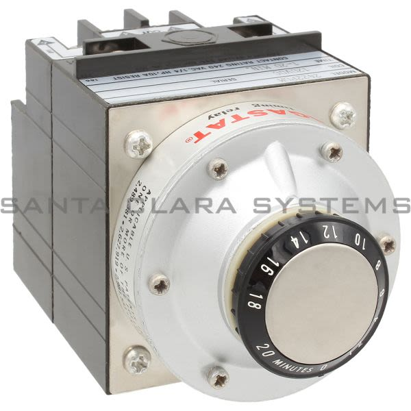 Agastat 2422PGM Timing Relay Off-Delay DPDT 20-Min | Tyco Product Image