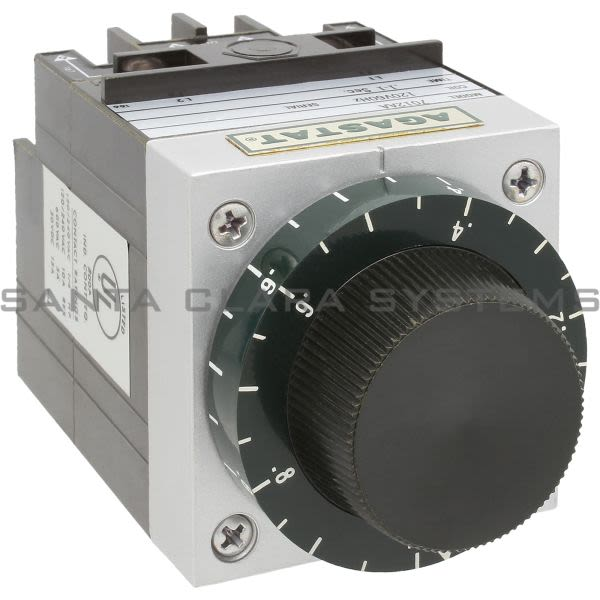 Agastat 7012AA Timing Relay .1-1 Sec Product Image