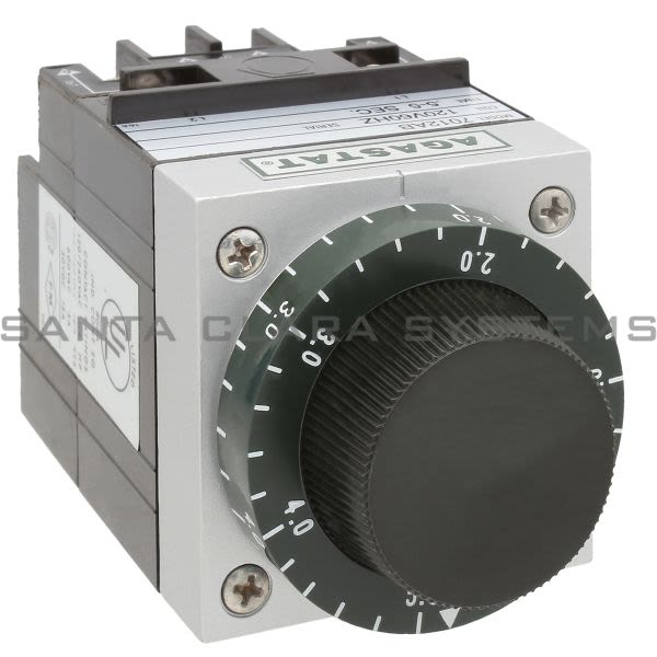 Agastat 7012AB Timing Delay Relay DPDT 5-Sec | 7012-AB Product Image