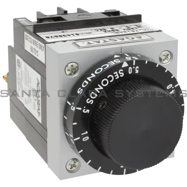 Agastat 7012ABL Time Delay Relay 10 amp 2-Pole .5-5 Sec Product Image
