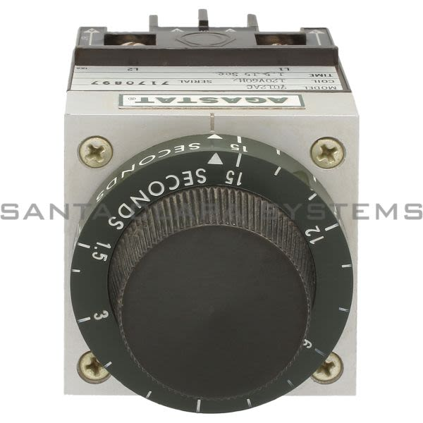 Agastat 7012AC Relay Time Delay 1.5-15SEC | Tyco Product Image