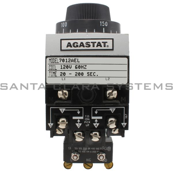Agastat 7012AEL Timing Relay | 7012-AEL Product Image