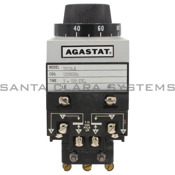 Agastat 7012AJL Time Delay Relay Product Image