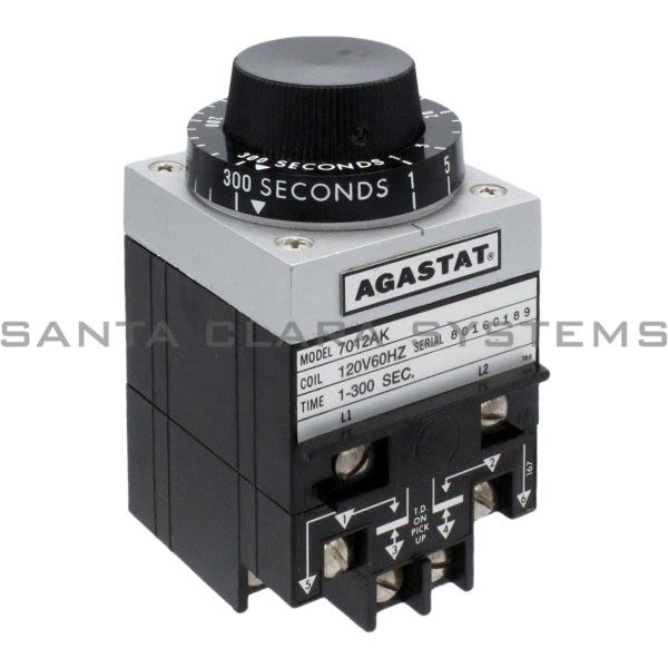 Agastat 7012AK Timing Relay | 7012-AK Product Image