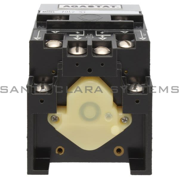 Agastat 7012BD Time Delay Relay DPDT 10A 5-50 Sec   Tyco Product Image