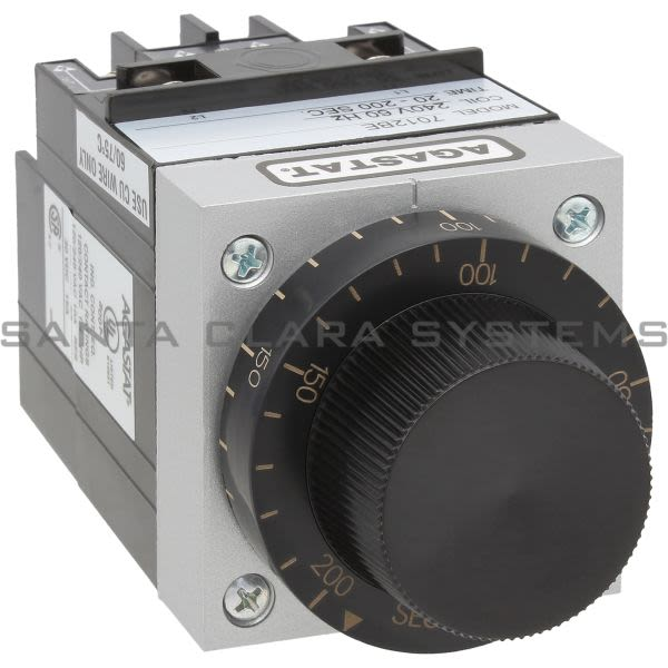 Agastat 7012BE Time Delay Relay DPDT 20-20 Sec | Tyco Product Image