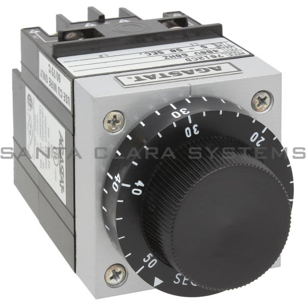 Agastat 7012CD Time Delay Relay DPDT 5-50 Sec Product Image