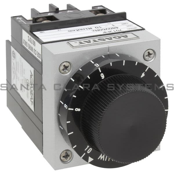 Agastat 7012CF Time Delay Relay DPDT 1-10 Min | Tyco Product Image