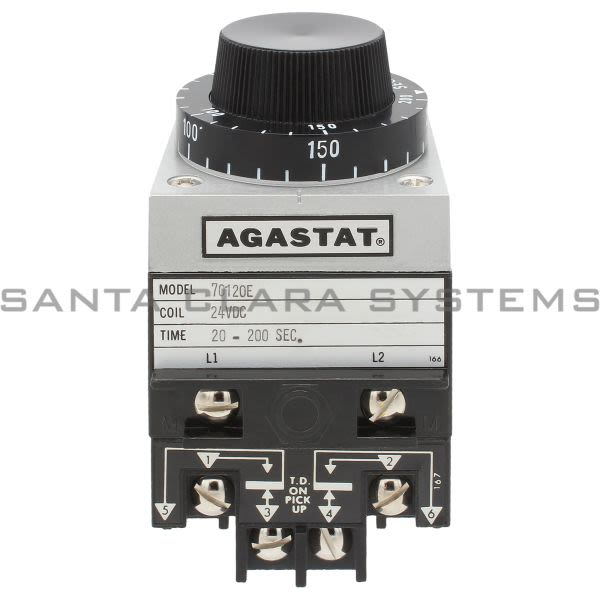 Agastat 7012OE Time Delay Relay | DPDT 200 Sec | Tyco Product Image