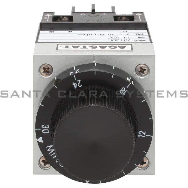 Agastat 7012OH Time Delay Relay DPDT 3-30 Min Product Image