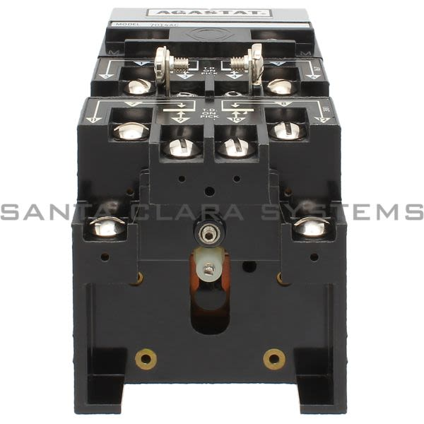 Agastat 7014AC Time Delay Relay 4PDT 20-Sec | Tyco Product Image