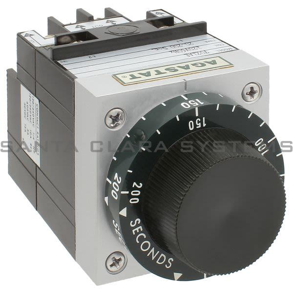 Agastat 7021AE Time Delay Relay SPDT 20-200 Sec | Tyco Product Image