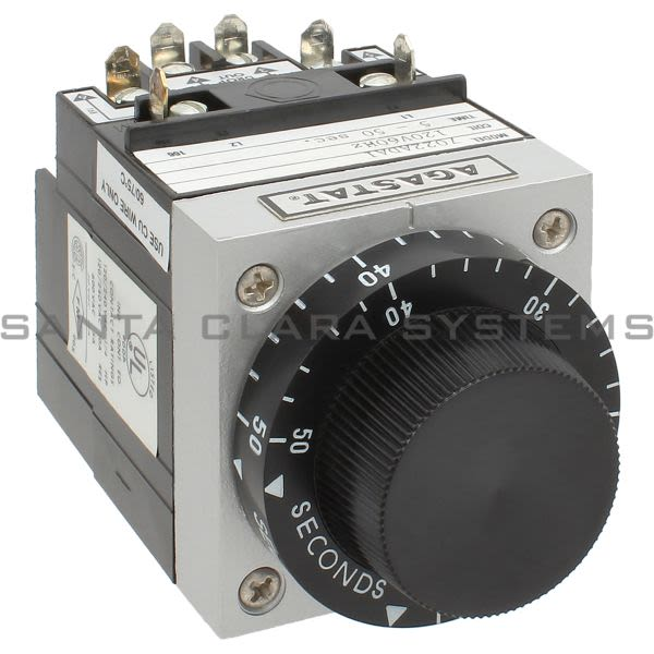 Agastat 7022ADA1 Relay Time Delay 120-VAC 50Sec | Tyco Product Image