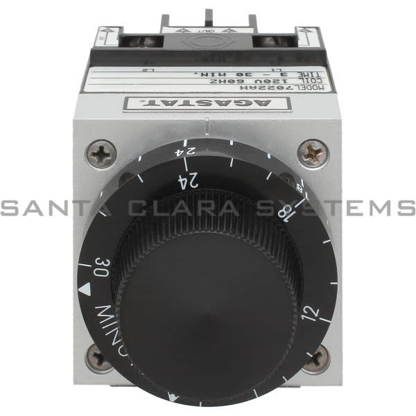 Agastat 7022AH Time Delay Relay DPDT 30-Min | 1-1423162-2 Product Image