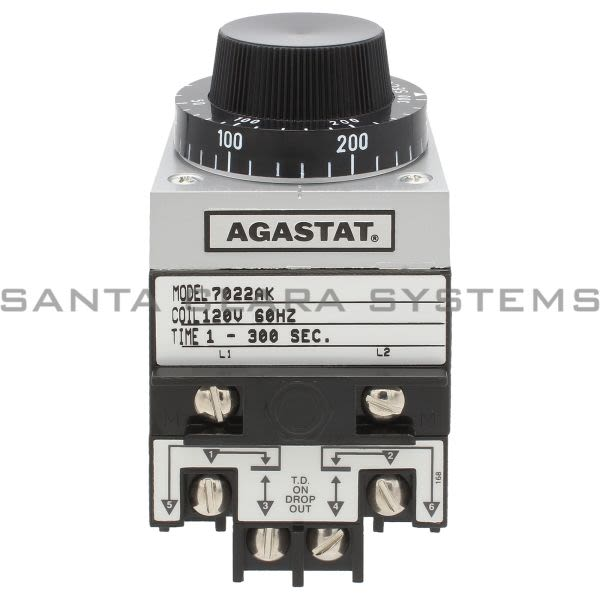 Agastat 7022AK Time Delay Relay   Tyco Product Image