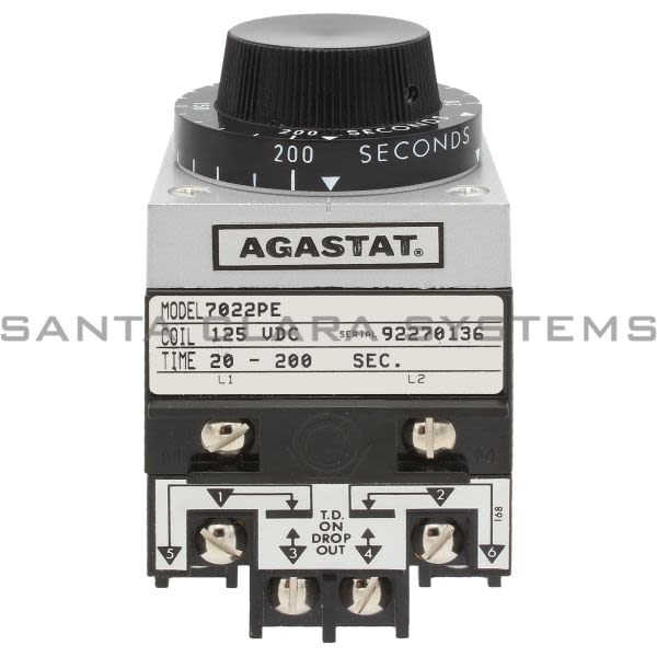 Agastat 7022PE Timing Relay | 2-1423164-6 Product Image